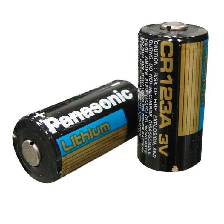 Fenix Panasonic CR123A Battery