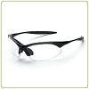 Crossfire Cobra clear lens, shiny black frame