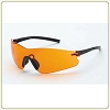 Crossfire Blade orange anti-fog lens, black temple