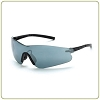 Crossfire Blade silver mirror lens, black temple