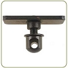 Harris Bipod Flange Nut - Adapter for hollow forends