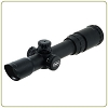 Leapers 	1-4X24 30mm Long Eye Relief CQB Scope w/ Glass Circle Dot RGB Reticle & QD Rings
