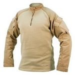 Tru-Spec 1/4 Zip 65/35 Poly/Cotton Ripstop Tactical Response Combat Shirt