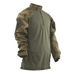 Tru-Spec 1/4 Zip ATACS 50/50 Nylon Cotton Tactical Response Combat Shirt