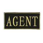 Voodoo Tactical Agent/Instructor – Gold Letters/White Letters 06-7730