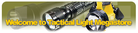 Welcome to the GearZone Products Tactical Light Megastore