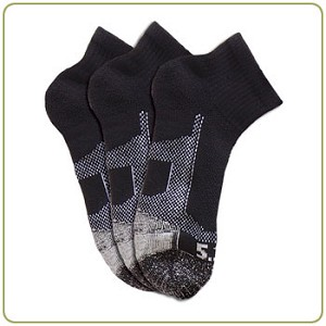5.11 Tactical 3 Pack Ankle Sock - CLOSEOUT!