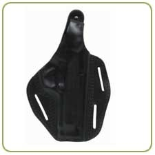 BlackHawk CQC 3 Slot Leather Pancake Holster - CLOSEOUT!