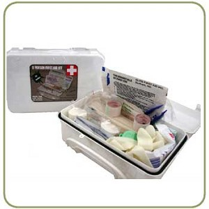 Elite First Aid White Series 8 Person Kit