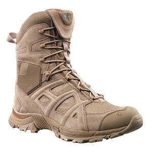 Haix Black Eagle Athletic 11 High Side Zip Desert Tan
