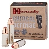Hornady Critical Defense 38 Special 110gr FTX (+P) OUT OF STOCK