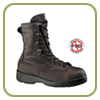Belleville Wet Weather Chocolate Brown Safety Toe Flight Boot - USN/USMC