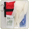 Elite First Aid CPR Mask w/Pouch, Gloves and Wipe