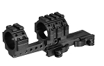 Leapers UTG Integral 30mm Offset QD Mount, 4 Top Slots, 100mm Base