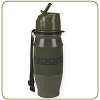 NDuR 28oz Flip Top Bottle - Olive