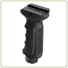 Leapers Ergonomic Ambidextrous Vertical Foregrip - Black