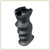 Leapers UTG New Gen Combat Foregrip with Concealed Compartment - Black