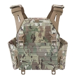 Warrior Assault Laser Cut Low Profile Carrier V1 Solid Sides