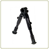 Leapers UTG Dragon Claw Clamp-on Bipod-SWAT/Combat Profile Adjustable Height Clamp-on
