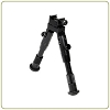 Leapers UTG Universal Shooter's Bipod - SWAT/Combat Profile Adjustable Height