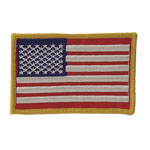 Voodoo Tactical Embroidered U.S.A. Military Flag Patch 20-9087